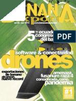 Drones, Software y conectividad para el banano