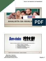 Apostila Mecatec-Analista Da Qualidade-Módulo 1 e 2-Rev0