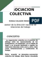 NEGOCIACION COLECTIVA CON LOS SINDICATOS