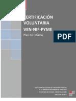 Plan de Estudio Certificacion en Ven Nif