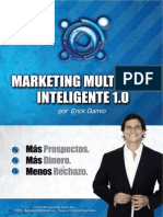 Marketing Multinivel Inteligente 1 0 ERICK GAMIO