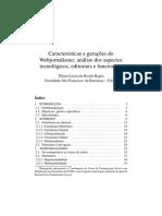 Características e Gerações Do Webjornalismo