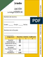 3er Grado - Evaluación Diagnóstica (2014-2015)