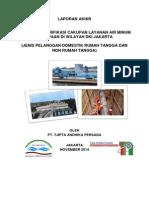 Kajian dan Verifikasi Cakupan Layanan Air Minum Perpipaan DKI Jakarta Tahun 2014