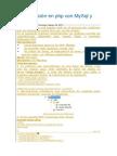Autenticación en Php Con MySql y POO