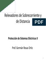 Relevadores de Proteccion - Distancia (Protecciones Eléctricas)