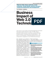 Business Impact of Web 2.0 Technologies