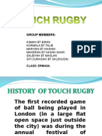 Sed - Touch Rugby