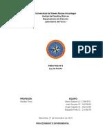 Informe de Lab de Fisica1-Principio de Arquimedes y Ley de Hooke