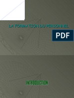 Formation Du Personnel GRH