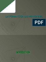 Formation Du Personnel GRH