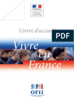Livret Vivre en France