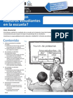 Informe Para La Institucion Educativa-Como Rinden Nuestros Estudiantes en La Escuela