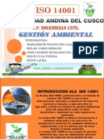 Iso 14001 - Gestion ambiental