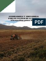 Miranda Colque Rubén Ramiro. 2013. Sembradoras y Abonadoras Para El Cultivo de La Quinua-Laquinua.blogspot.com