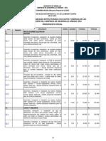 Presupuesto Oficial MC-31