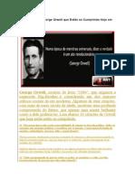 10 Citações de George Orwell Que Estão Se Cumprindo Hoj e Em Dia