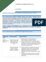 FCC - Planificación Unidad 4 - 2do Grado