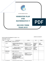 Yearly Plan Mathematics t Sem 2 2015