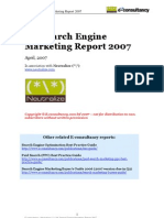 uk search engine marketing report 2007