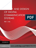 Theory and Design of Digital Communication Systems by Tri t. Ha