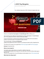 Fmscout.com-Football Manager 2015 Top Bargains