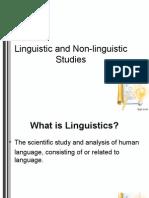 linguistics vs non-linguistics.ppt
