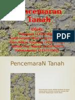 Persentasi Tugas Pencemaran Tanah_SISKOM