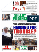 Thursday, April 02, 2015 Edition