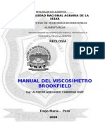 Manual de Viscosimetro Brookfield