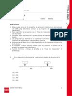Ensayo SIMCE N_1 MatemáTica - Cuarto BáSico