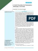 Dr Khoo Lee Seng and Dr Vasco Senna Fernandes-Revisiting the Curtis Procedure for Boutonniere Deformity Correction