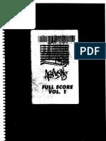 Assassins Full Orchestral Score