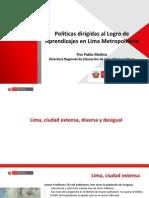 DRELM Políticas Sobre Aprendizajes LM