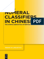 Numeral Classifiers in Chinese