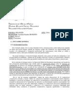 Programa Frances 2014
