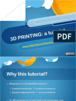 3d Printing Tutorial