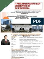 Paparan Kebijakan Akreditasi RS Di Indonesia_KARS170914