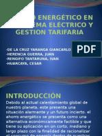 Ahorro Energético en El Sistema Eléctrico y Gestion Tarifaria