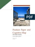 wilker idsl 885 position paper and cognitive map