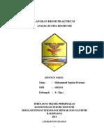 Laporan Resmi Praktikum Cover