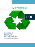 green manufacturing Report