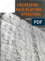 Engineering Rock Blasting Operations by Sushil Bhandari