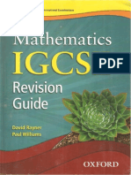 IGCSE Maths Revision Guide