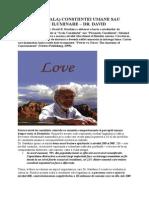 PIRAMIDA (SCALA) CONSTIINTEI UMANE SAU DRUMUL SPRE ILUMINARE ~ DR. DAVID R. HAWKINS