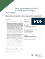 Hyperion Essbase Analytics Bulk Data Extraction Methodologies