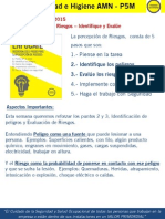 P5M Semana 08-2015 - Identifique y Evalúe
