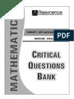 Critical Questions MATHS (English)Ans