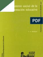 El contexto social de la planeación educativa
