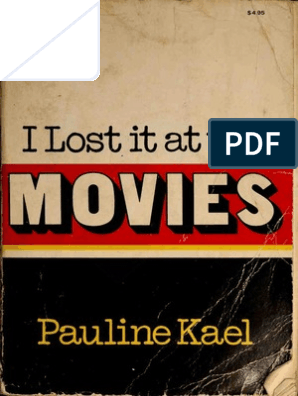 I Lost It at the Movies (Pauline Kael) | Leisure | Fiction & Literature